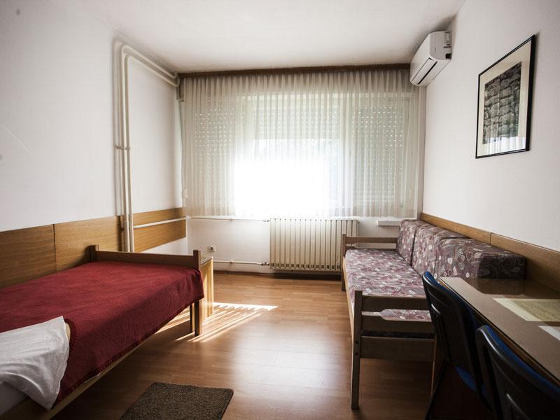 Jednokrevetne sobe